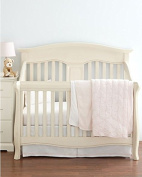 Hudson Park Collection Percale Baby Crib Skirt - Petal