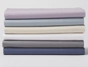 Organic Baby Crib Sheet - Pale Ocean Blue