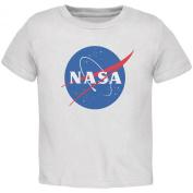 NASA Logo White Toddler T-Shirt