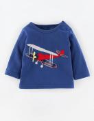 Baby Box Baby Boys' kids Toddler long sleeve aeroplane T-Shirts