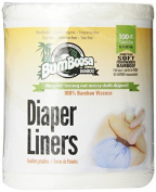 Bum Boosa Bamboo Flushable Nappy Liners, 100 Sheets by Bum Boosa