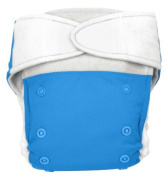 BabyKicks Premium Cloth Nappy Hook and Loop Closure, Azure by BabyKicks