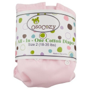 Osocozy All in One Cloth Nappy, Pink, Small by OsoCozy