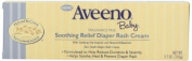 Aveeno Baby, Soothing Relief Nappy Rash Cream, Fragrance Free, 110ml by Aveeno