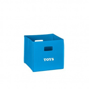 RiverRidge Kids Folding Storage Bin with Print, Multiple Colour and Print Options by RiverRidge Kids