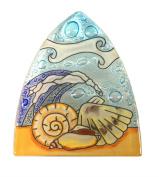 Whimsical Recycled Glass Night Light - Handmade and Fair Trade - Sea Shells