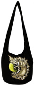 King of Nagas Painted Bohemian Crossbody Hippie Hobo Boho with Lining Big Size 90cm
