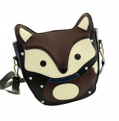 Top Shop Cute Fox Handbag Crossbody Clutch Purse Shoulder Bag Cartoon Satchel