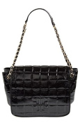 Tory Burch Small Marion Quilted Shoulder Bag Black Leather Bag