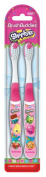 Shopkins 2 Pack Manual Toothbrushes