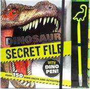 Dinosaur Secret File with Dino Pen