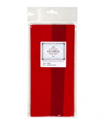 Double-Sided Crepe Paper, Premium Quality from Germany - Cardinal Red / Crimson