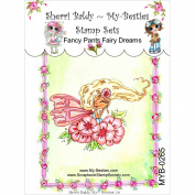My-Besties Clear Stamps 10cm x 15cm -Fancy Pants Fairy Dreams