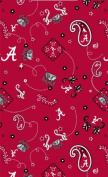 University of Alabama By Sykel -100% Cotton, 110cm Wide By the Yard
