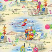 Beach Vista by Elizabeth's Studio Quilt Fabric Fat Quarter