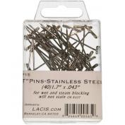 Lacis T-Pins (40 Pack), 4.3cm