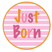 Mumsy Goose Baby Girl Just Born Sticker