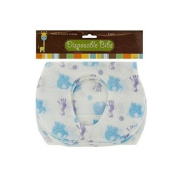 Disposable Absorbent Baby Bibs Pack of 5