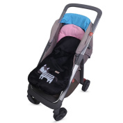 Bebeenvy Warm Soft Baby Stroller Footmuff with Cute Animal Prints,pink
