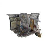 McFarlane Toys Construction Sets, The Walking Dead TV Hospital Doors, Play Set