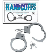 Fun Express Metal Double Lock Handcuffs with Keys