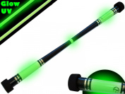 "Flames N Games MOONSHINE Devil stick - ""Glow In The Dark"" Devil stick * No Sticks Included*."