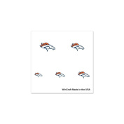 DENVER BRONCOS OFFICIAL LOGO FINGERNAIL TATTOOS