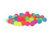 Bouncy Balls - Colourful Bright Solid Colour High Bouncing Balls Bulk - 100pcs 2.7cm