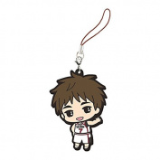 Kuroko's Basketball Kiyoshi Teppei Rubber Mascot Smartphone Charm Strap