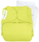 BumGenius Cloth Nappy - Jolly (Citron Green) - One Size - Snap