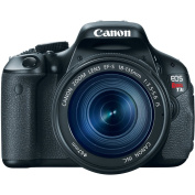 Canon EOS Rebel T3i Digital SLR Camera with EF-S 18-135mm f/3.5-5.6 IS Lens