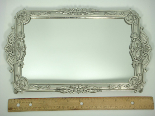 7 inch long 12 inch wide mirror tray item 26 for Long wide mirror