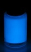 Pure Blue Glow Solvent-based Paint 1/2Pint