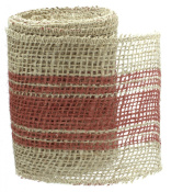 10cm X 3m Burlap Ribbon By The Country House Collection