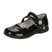 Amur Leopard Girs Leather Mary Jane Flats All Size