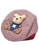 YICHUN Baby Toddler Baseball Hat Warm Beret Cap Beanie Plaid Cap