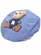 YICHUN Baby Toddler Baseball Hat Warm Beret Cap Beanie Plaid Cap