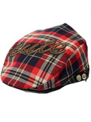 YICHUN Baby Kids Toddler Plaid Peaked Cap Cute Baseball Hat Beret Cap