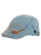 YICHUN Child Kids Toddler Peaked Cap Cowboy Baseball Cap Beret Hat