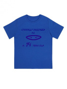 """""""Cunningly Desguised as a 14 Year Old"""" - Unisex Ninja Eyes Birthday T Shirt Gift"""