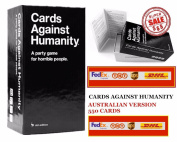 Cards Against Humanity Australia AU Edition BASE SET - 550 Cards Main set EXPRESS COURIER SYDNEY WITH UPS/DHL/FEDEX/ TNT WORLDWIDE SHIPPING AVAILABLE!
