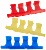Fripac-Medis Sectioning Clips, Short Farbig Sortiert - 12-Piece