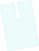 Fripac-Medis Disposable Hairdressing Capes Plain 140 x 100 cm, White - Pack of 100