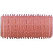 Fripac-Medis Le Coiffeur Adhesion Curler 24 mm, Rose - Pack of 12