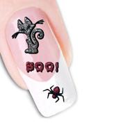 Nail Art 3D Glitter Stickers - Halloween