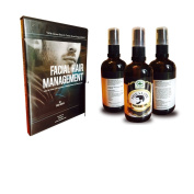 Best Beard Oil | Beard Moisturiser & Conditioning Oils, Kit includes Facial Hair Management CD with complete lessons on How to Grow and Maintain a Healthy Beard and Moustache, also makes a great gift - Love It Or Your Money Back