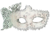 Orien Halloween Princess Masks Masquerade Butterfly Cosplay Costumes Facial Dress Up Party White