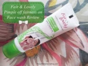 Fair & Lovely Pimple Off Fairness On Face Wash Gentle Scrub Particles Helps To Remove Pimples Causing Germs And Oil 50G