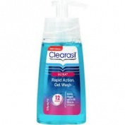 Clearasil Ultra (Pack Of 2) Rapid Action Gel Wash 12 hours 150ml