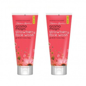 Aroma Magic 2 X Strawberry Face Wash, 50Ml